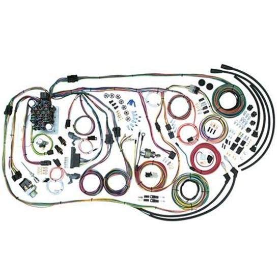 american autowire 500481 1955-59 chevy pick-up wiring harness  55-58 chevy  truck, 1959 chevy 3a, 1959 chevy 3b, 1959 chevy 3g