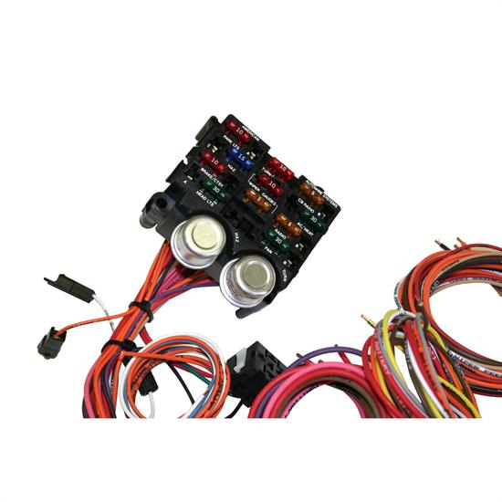 American Autowire 510004 Power Plus 13 Circuit Wiring