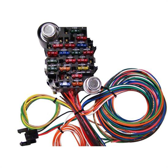 American Autowire 510008 Power Plus 20 Circuit Wiring