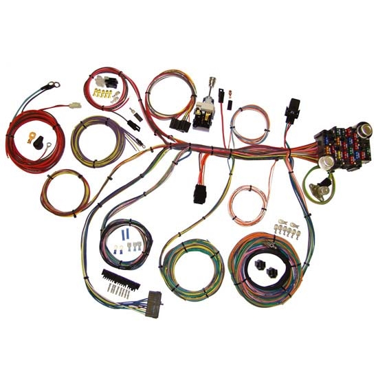 American Autowire 510008 Power Plus 20 Circuit Wiring Harness on