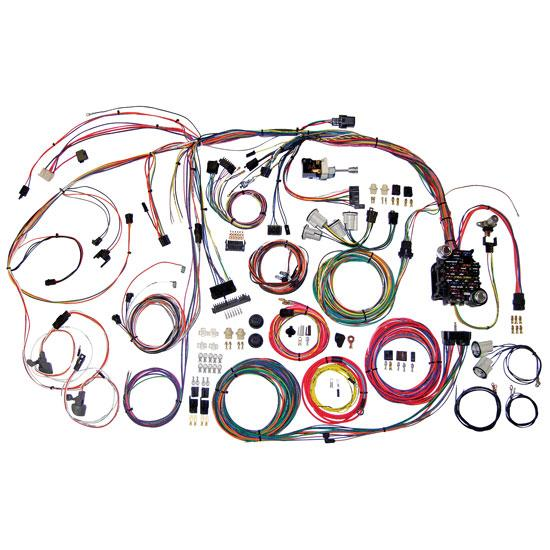 Marvelous American Autowire 510105 1970 72 Chevelle Wiring Harness Wiring Database Aboleterrageneticorg