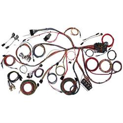 american autowire 510055 1967 68 mustang wiring harness 68 Mustang Dash