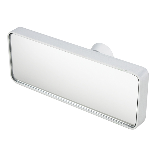 Billet Aluminum Inside Mirror, Glue-On