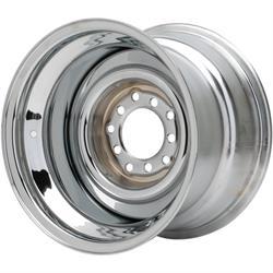 Speedway Smoothie 15x10 Steel Wheels, 5 on 5/5.5, 4.5 BS