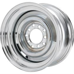 Speedway Smoothie 15x7 Steel Wheels, 5 on 5/5.5, 4.0 BS