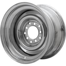 Speedway Smoothie 15x8 Steel Wheels, 5 on 5/5.5, 4.25 BS