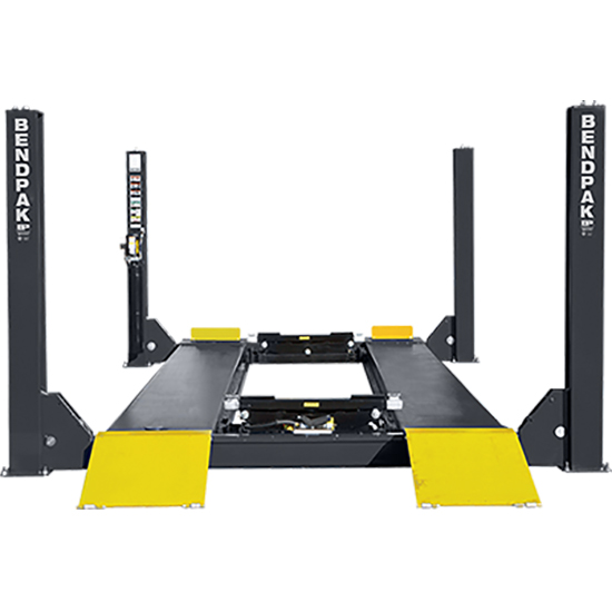 Four Post Lift >> Bendpak 5175168 Four Post Vehicle Lift 35 000 Lbs Extended