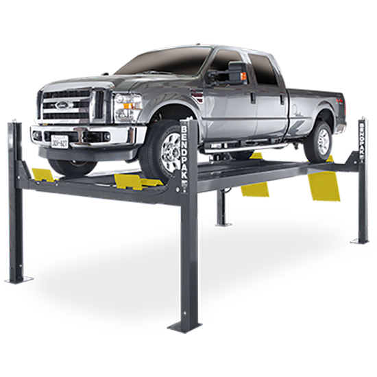 BendPak 5175173 Four-Post Vehicle Lift 14,000 Lbs, Extended