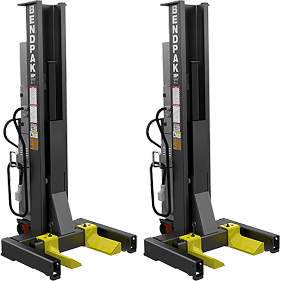 BendPak 5175291 Mobile Column Lift 36,000 Lbs, Low Voltage