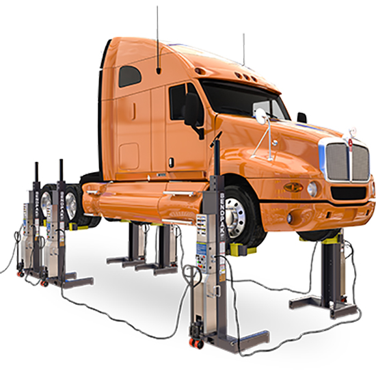 BendPak 5175297 Mobile Column Lift 108,000 Lbs, High Voltage
