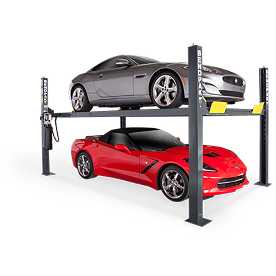 BendPak 5175862 Four-Post Vehicle Lift 9,000 Lbs, Narrow
