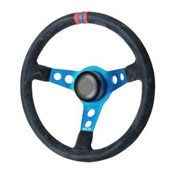 GT Performance 52-4306 Pro-Touring Suede Drift Steering Wheel