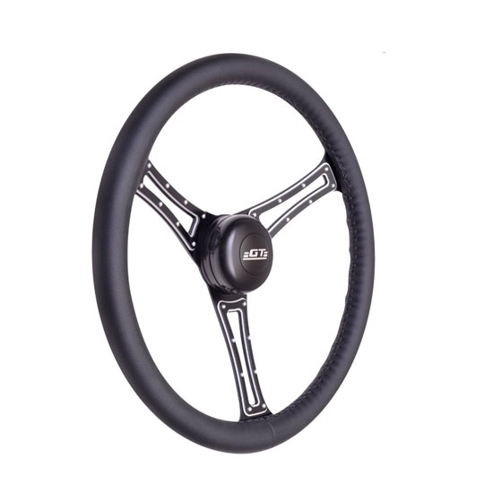 GT Performance 54-5815 Autocross Leather Steering Wheel, GT Straggler