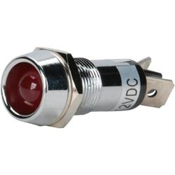 Pico 5564C Indicator Light, 1/2 Inch, Red