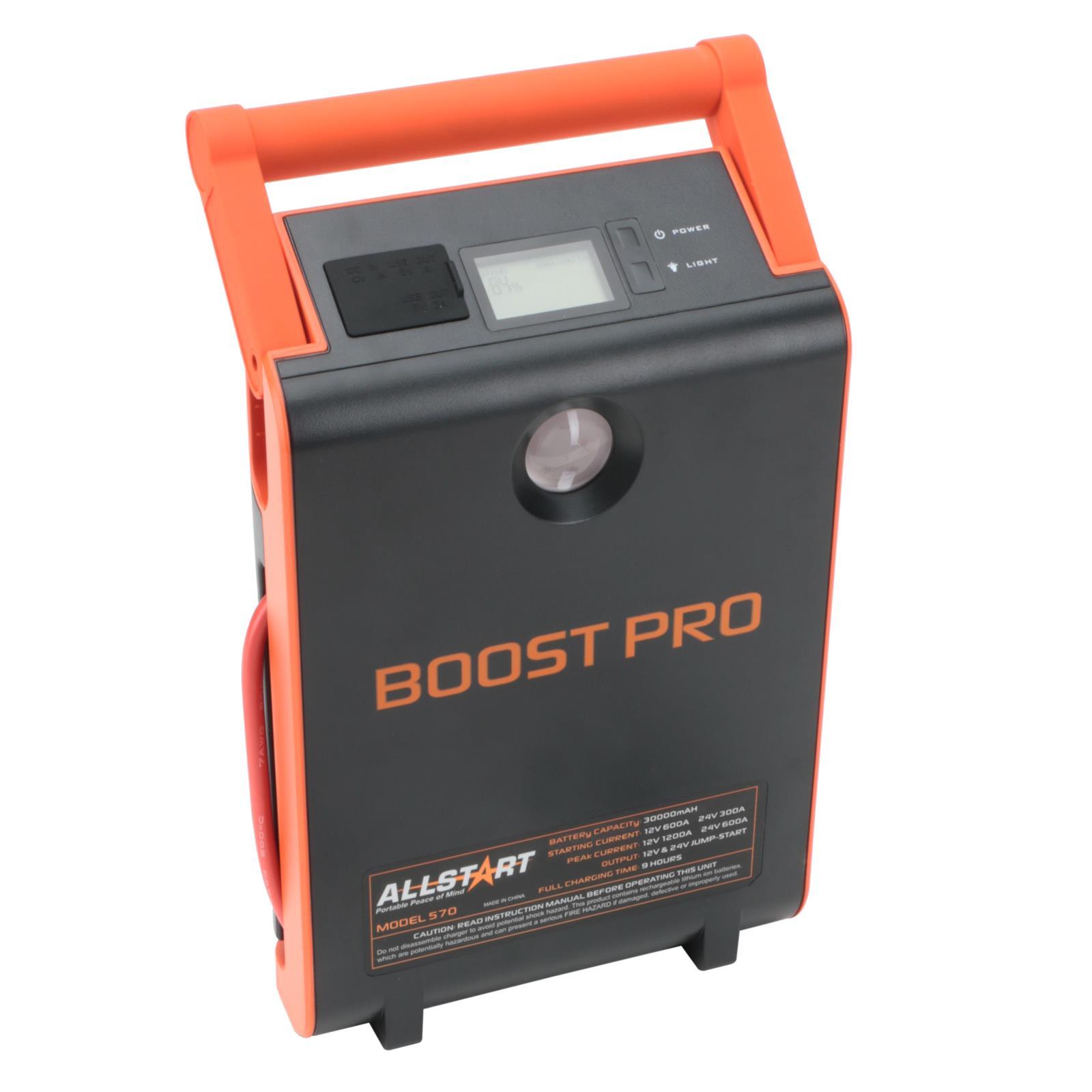 Allstart 570 Horizon Boost Pro Battery Charger 12v 24v Auto Meter Wire Harness