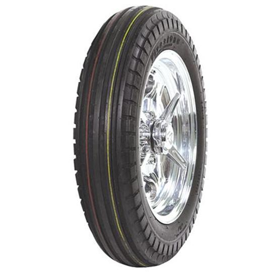 Coker Tire 55665 Firestone Ribbed Front Tire, 5.00-15