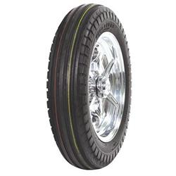 Coker Tire 72230 Firestone Ribbed Front Tire, 5.00-16