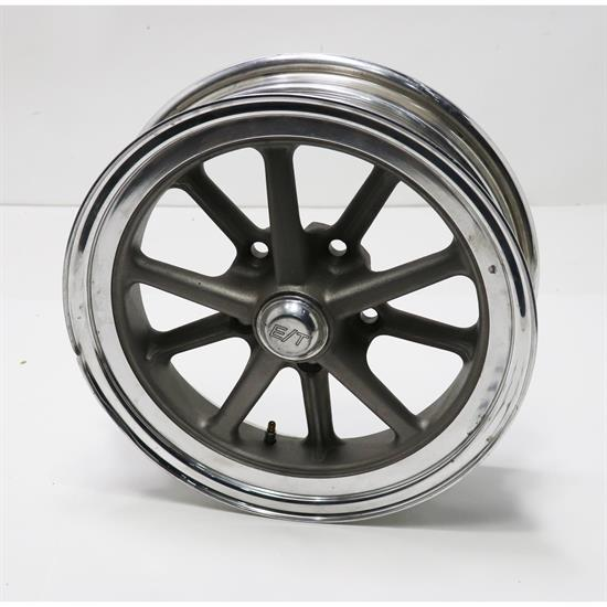 Team III Gasser ET 15 Inch Wheel-15x4.5, 5 on 4.75, 2 In. Backspa