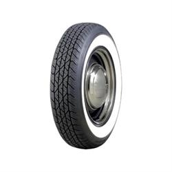 Coker Tire 579811 BF Goodrich Silvertown Whitewall Radial Tire-165R-15