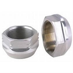 Aluminum Hex Axle Nut, 2-5/8 Inch LH