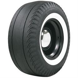 Coker Tire 613129 Firestone Drag Slick, Whitewall, 820-16