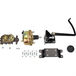 Universal Brake Pedal//7 Inch Power Booster//1 Inch Master Cylinder Unit