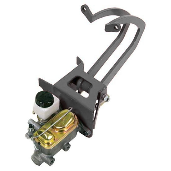 Universal Chevy Ford Dodge Truck Frame Mount Power Brake Pedal w// Booster Master