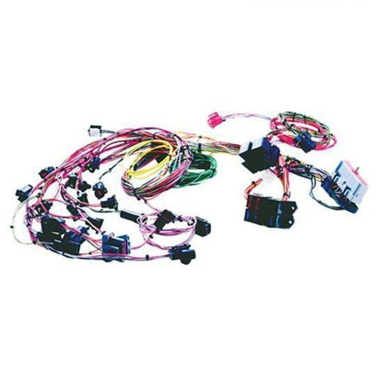 painless wiring 60511 5 0 ford fuel injection system engine harness   universal fit, 8 number of circuits