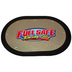 Fuel Safe CP6X10 Alum 6 x 10 Sprint Fuel Cell Coverplate w/ Wear Guard