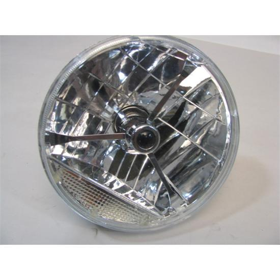 "Replacement 7"" Headlight W/Colored Dots"