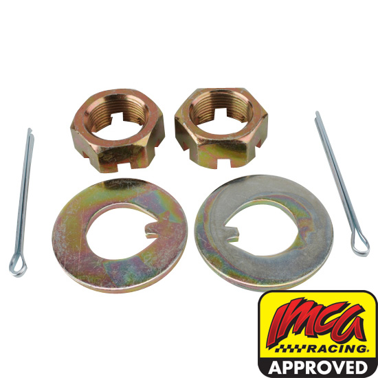 Pinto-Mustang II Spindle Nut & Washer Kit
