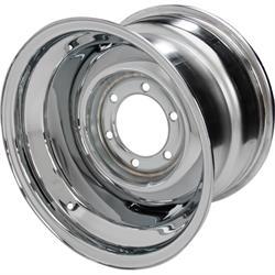 Speedway Smoothie 15x10 Steel Wheels, 6 on 5.5, 6 lug, 4.5 BS