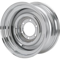 Speedway Smoothie 15x7 Steel Wheels, 6 on 5.5, 6 Lug, 4.0 BS