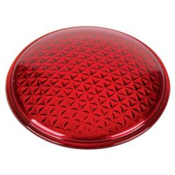 Replacement Tall Model T Tail Light Lens, Red