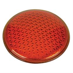 Replacement Tall Model T Tail Light Lens, Amber