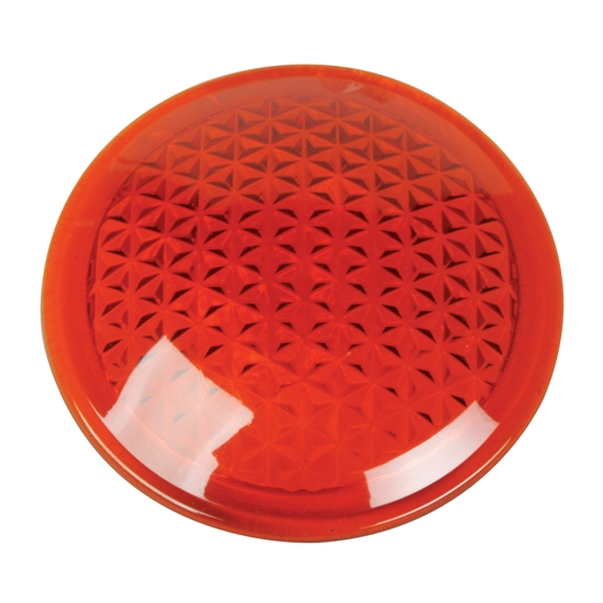 Amber Cowl/Tail Light Lens, 3 Inch