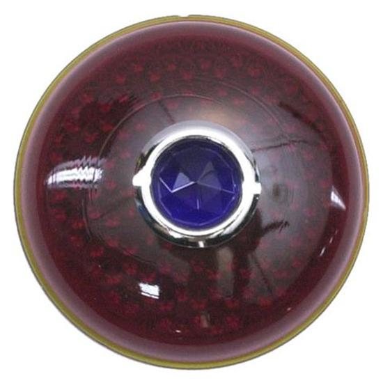 1937 Ford Blue Dot Tail Light Lens, Passenger Car