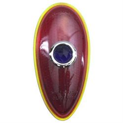 1938-1939 Ford Blue Dot Tail Light Lens, Passenger Car