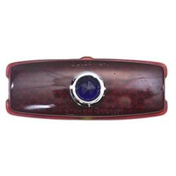 1941-1948 Chevy Blue Dot Tail Light Lens, Passenger Car