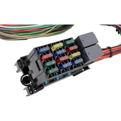 Sdway Motors Universal 12 Circuit Mini Fuse Wiring Harness on