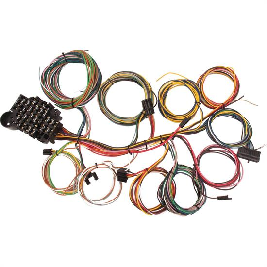 speedway universal 22 circuit wiring harness rh speedwaymotors com universal wiring harness installation universal wiring harness instructions