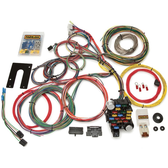 painless wiring 10201 gm 28 circuit wiring harness rh speedwaymotors com 14 Circuit Wiring Harness Marine Engine Wiring Harness