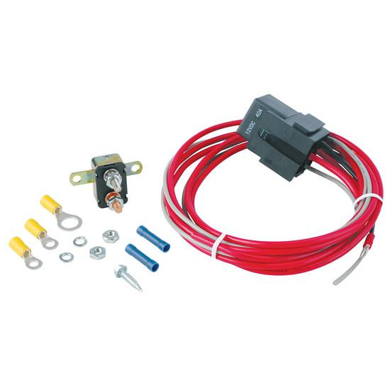 Speedway Universal Electric Relay For Cooling Fan  Horn