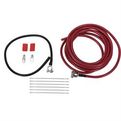 Speedway 2-Gauge Battery Relocation Cable Kit, Copper, 18 Ft. Length