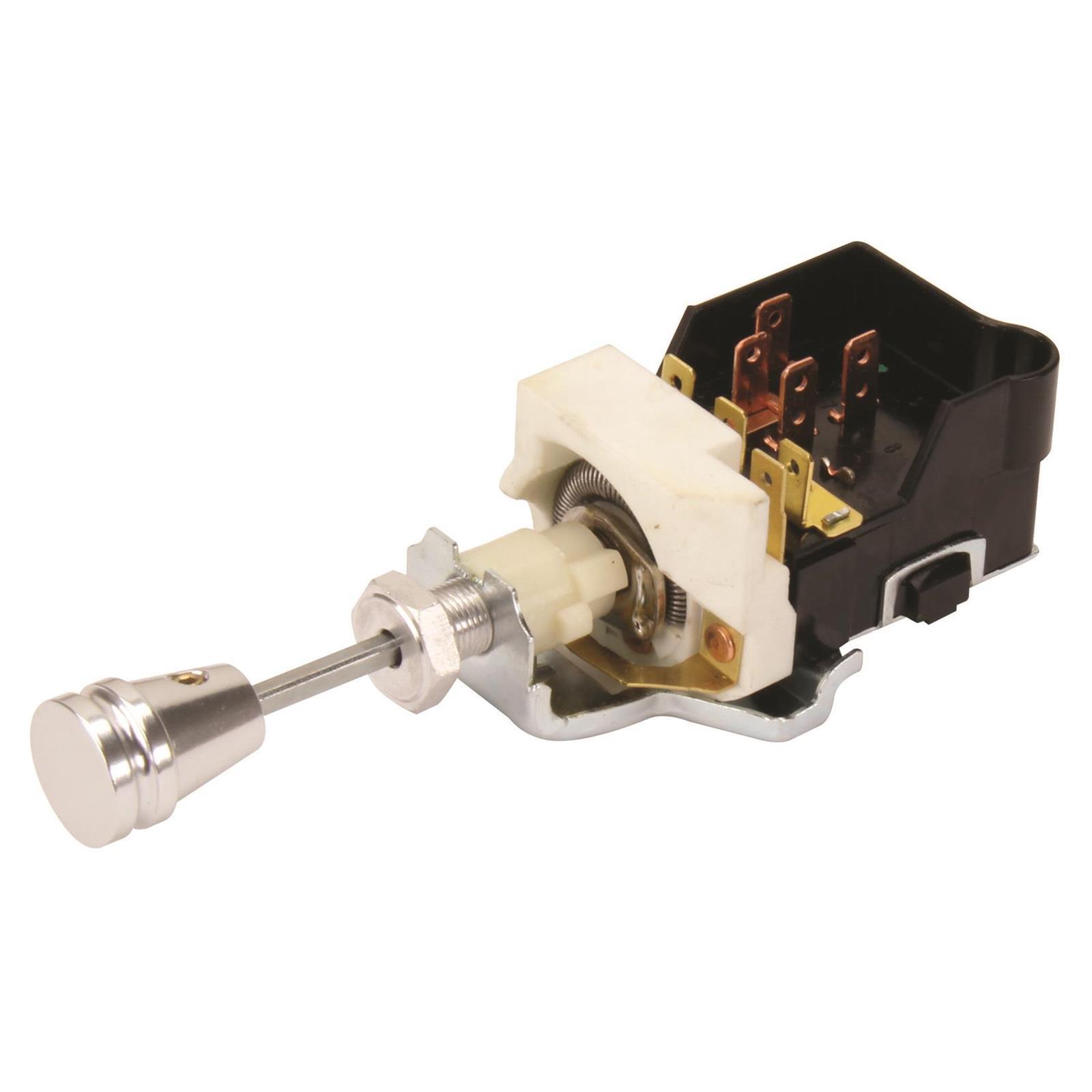 Gm Style Billet Street Rod Headlight Switch 67 Camaro Rs Wiring Diagram Limit