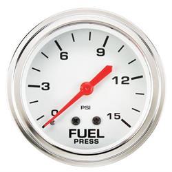 Speedway 2-5/8 Inch Fuel Pressure Gauge