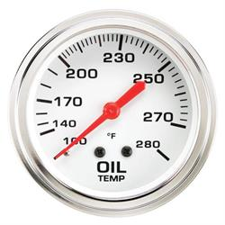 Speedway 2 5/8 Inch Oil Temperature Gauge