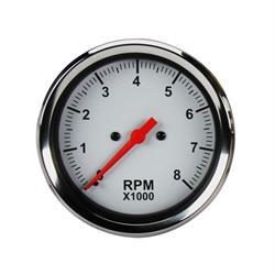 Speedway 3-3/8 Inch Electric Tachometer Gauge