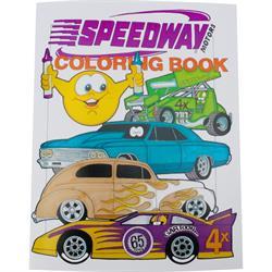 "Speedway ""Gar""Toon Coloring Book"