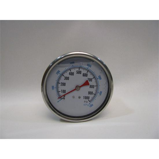 Garage Sale - Replacement 4 Inch, 1000 PSI Pressure Gauge